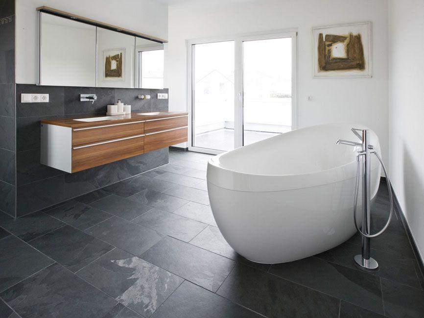Badezimmer-Design-Ideen-alternative-zu-fliesen-im-bad-elegantes ...