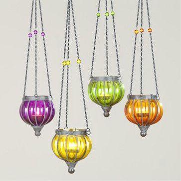 Small Melon Lanterns Eclectic Outdoor Lighting World Market