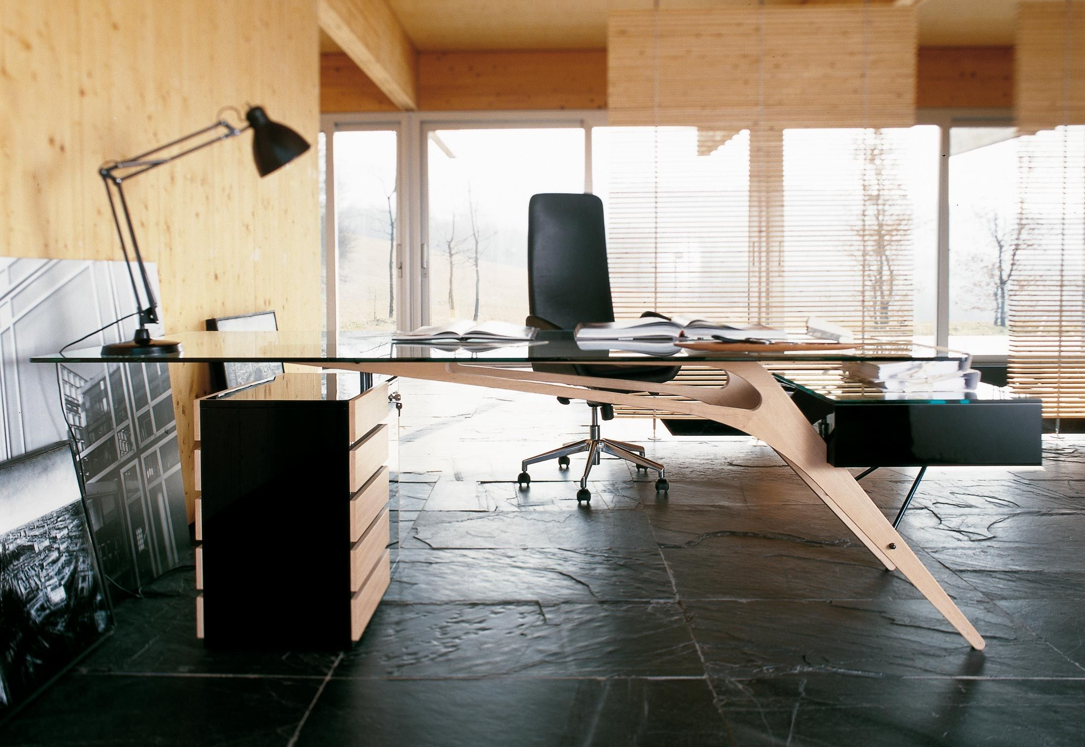 This Designer Desk Adds A Little Wow Factor Interior