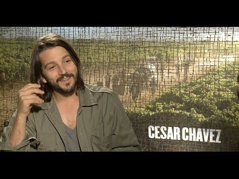 Diego Luna Interview - Cesar Chavez