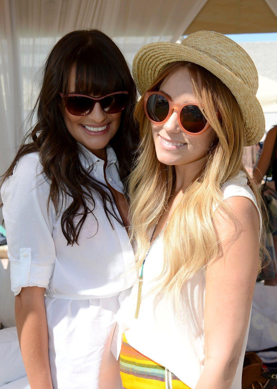 Lauren Conrad and Lea Michele