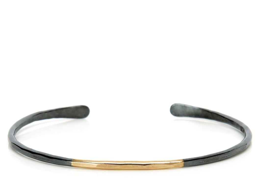 Black and gold cuff by melissa joy manning fashion pinterest