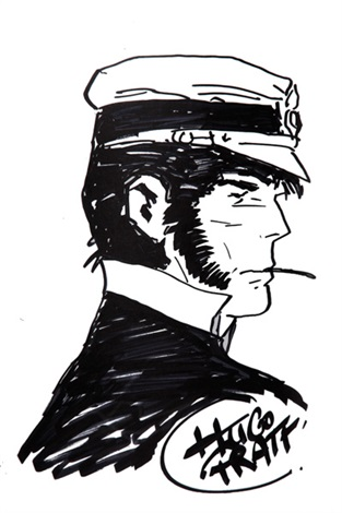 Corto Maltese La Maison Doree De Samarkand By Hugo Pratt W B Comic Artist Comic Books Art Comic Illustration