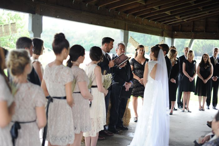 Farm Wedding Under The Pavilion Queens County Museum