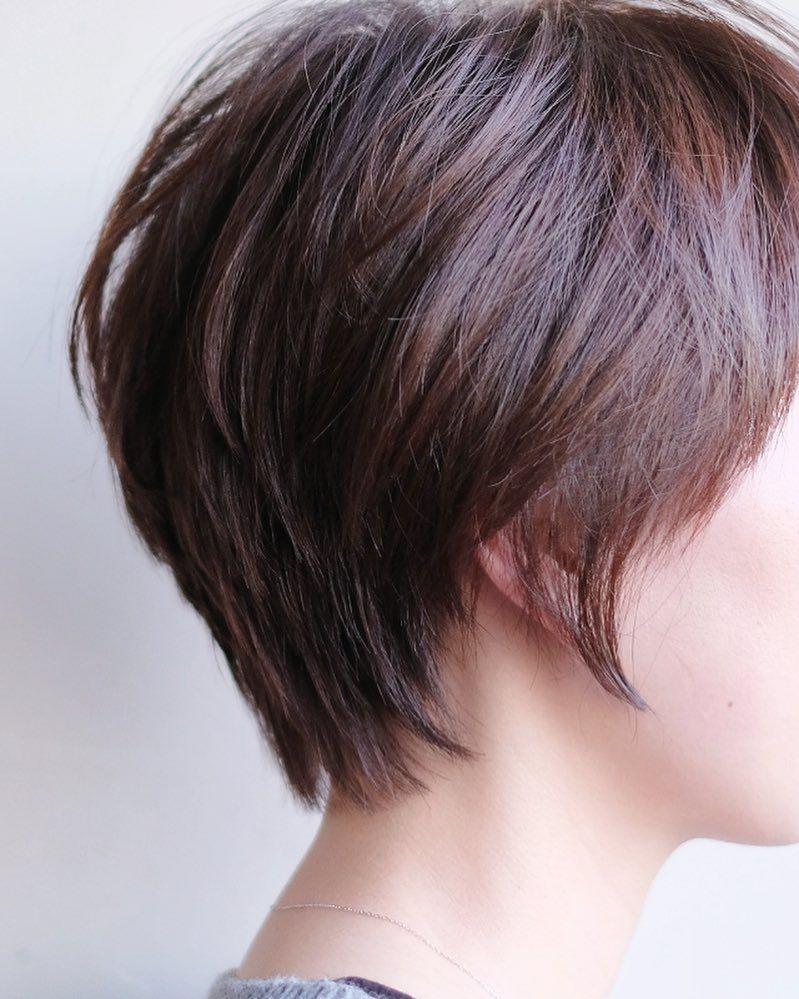 メンズライク 色っぽで最強 春のハンサムショート見本帳 ハンサムショート ショートカット 髪型 ミセス 髪型