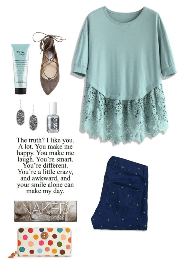 """""""I love you more than you will ever know"""" by thepreppybohogirl ❤ liked on Polyvore featuring Chicwish, Essie, Kendra Scott, Urban Decay, Tory Burch, philosophy, Hollister Co. and Steve Madden"""