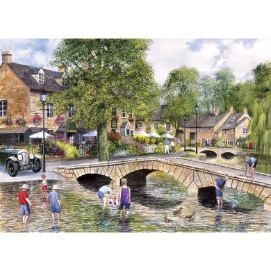 Gibson Son Bourton On The Water 1000 Piece Jigsaw Puzzle