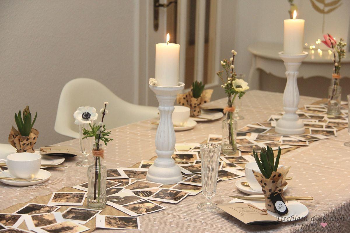 Tischdekoration Zum 80 Geburtstag Tischdekoration Dekoration
