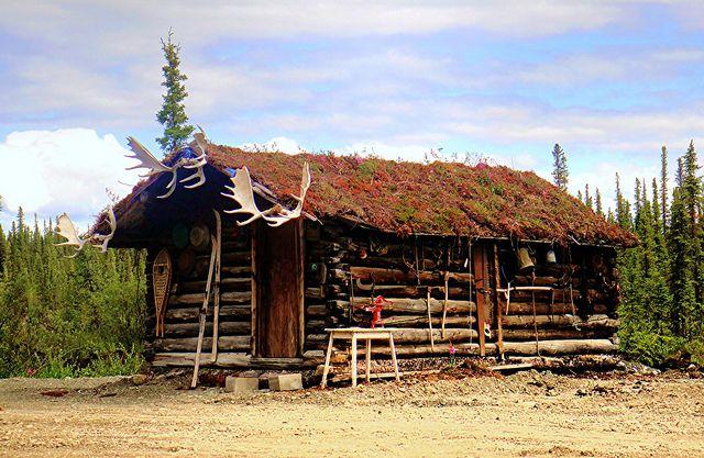 Old trapper cabins old alaskan trapper 39 s cabin for Alaska cabin plans