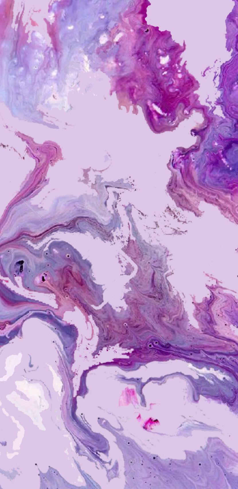 Marble Purple Pink Blu Pastel Colors Wallpaper Screensaver
