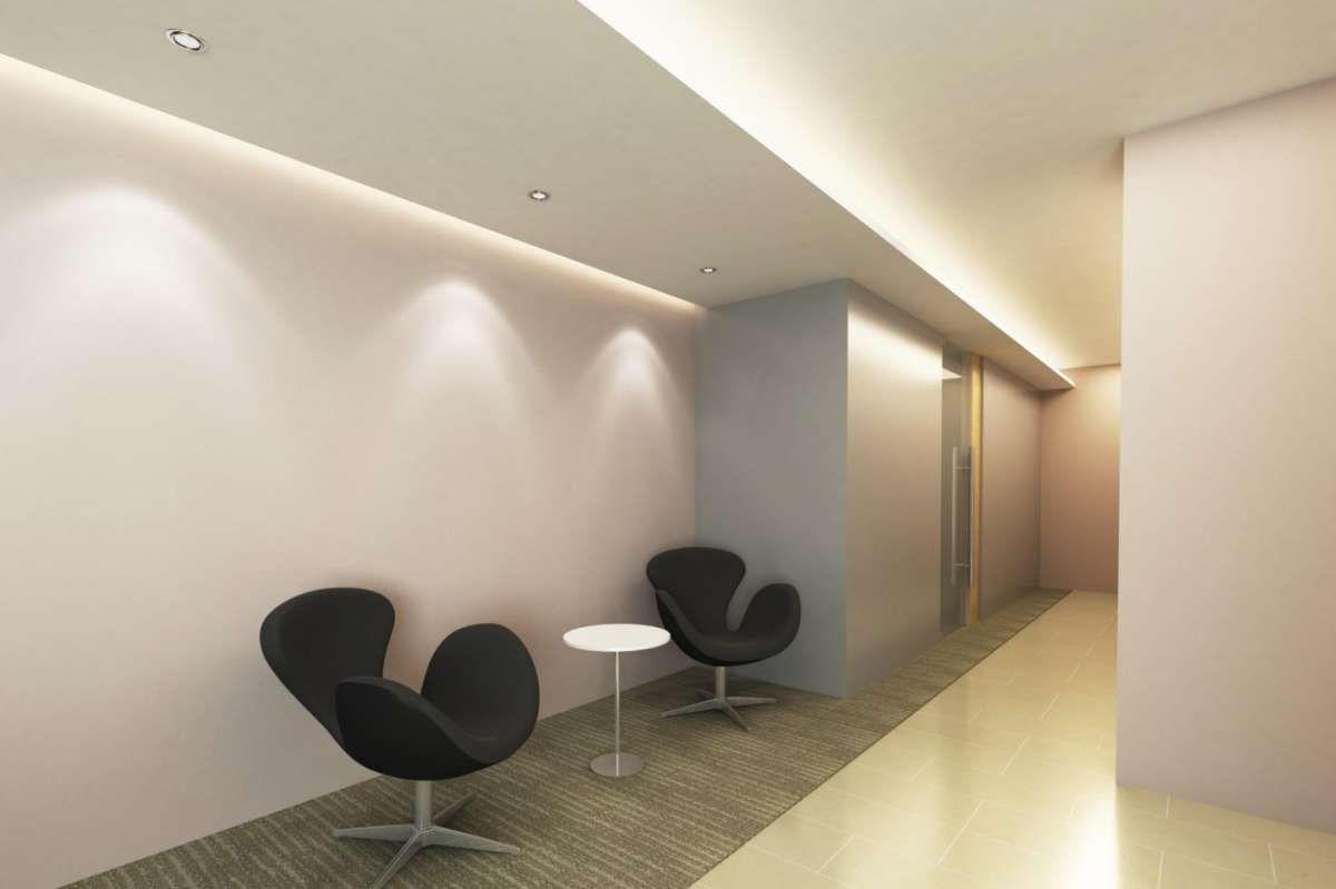 Idee per illuminare il corridoio faretti soffitto