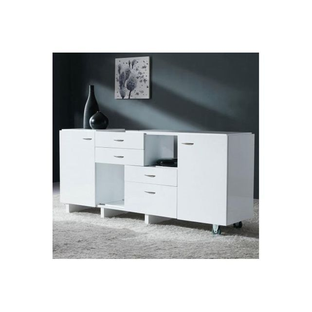 Commode Extensible Blanche OPEN