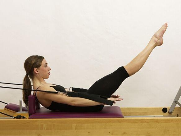 Image result for pilates reformer hundred