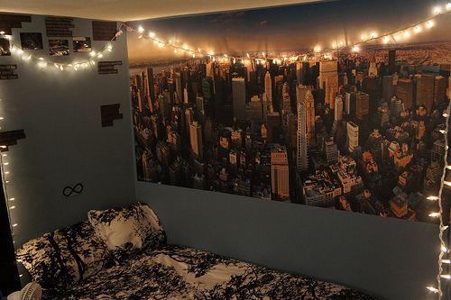 decorar la habitaci n con luces ideas para el hogar