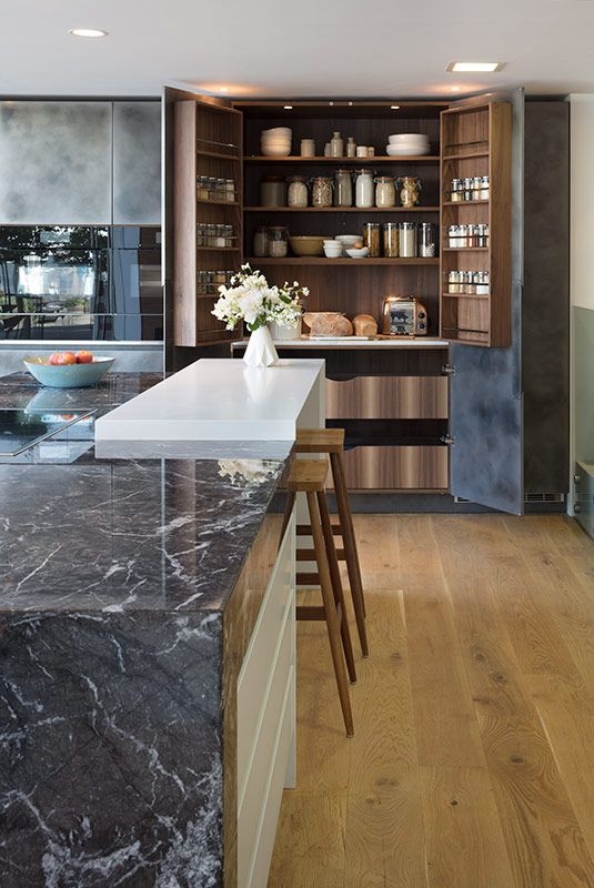 Our Fulham Pantry In Theroundhouse Guildford Bespoke Kitchen