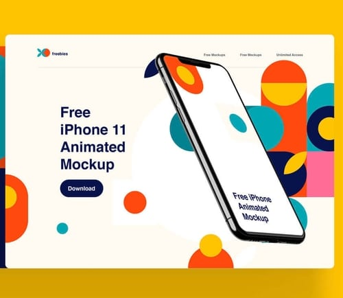Free Mockups And Design Tools Psd Sketch Figma Iphone 11 Iphone Animation