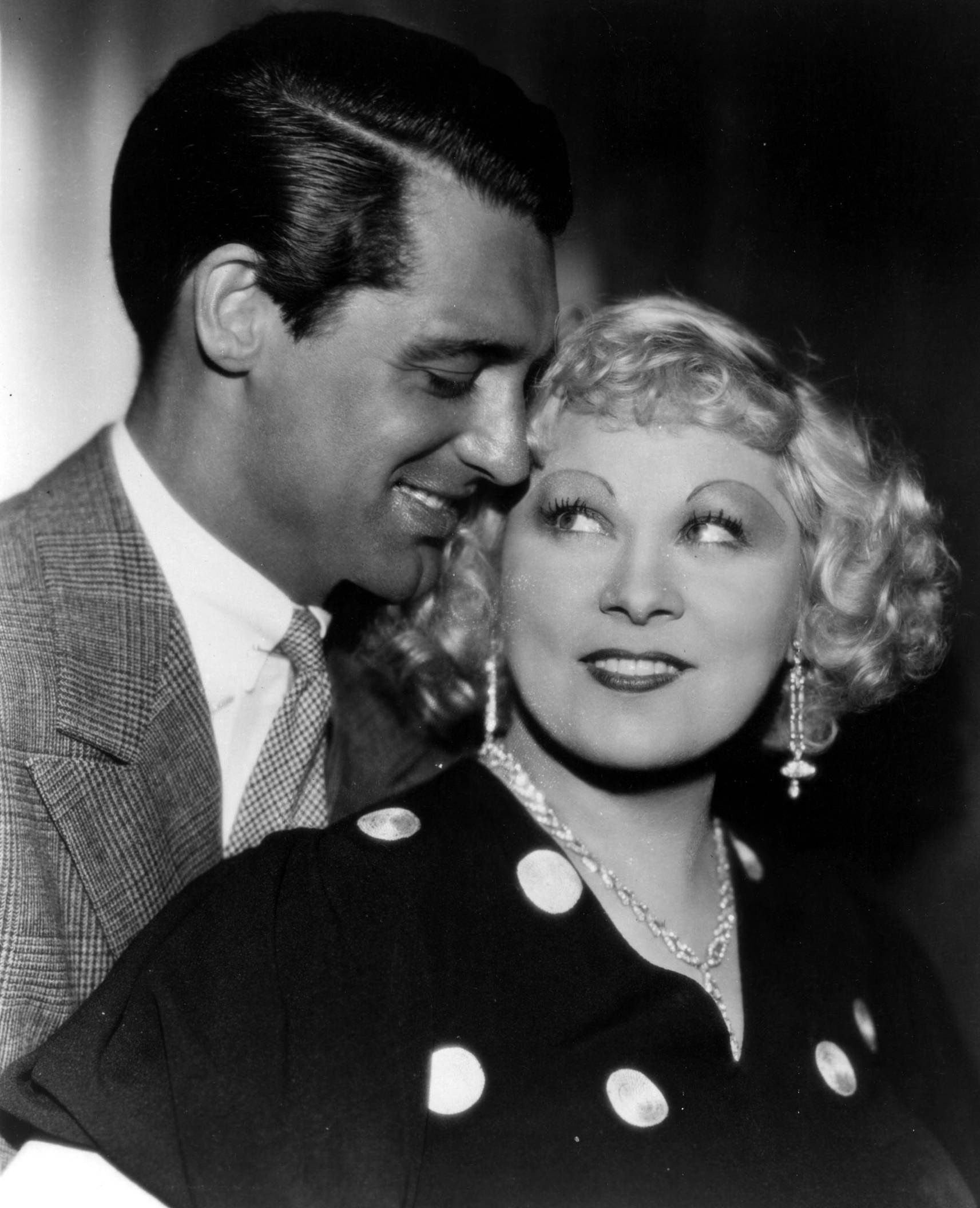 Portrait of gary grant and mae west in im no angel directed by ingrid bergman biocorpaavc