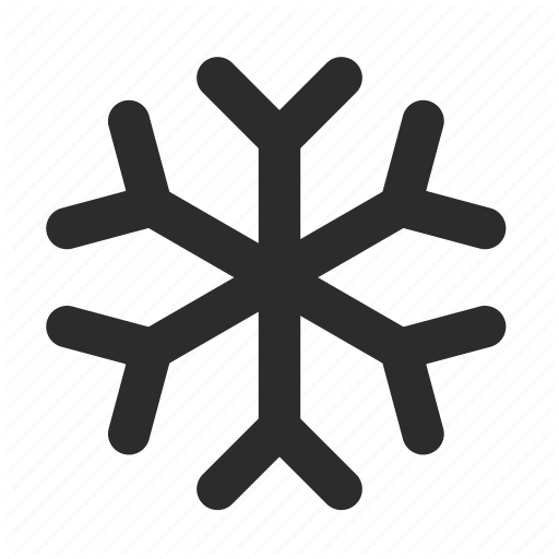 Cold Snowflake Winter Icon Download On Iconfinder Icon Weather Icons Snowflakes