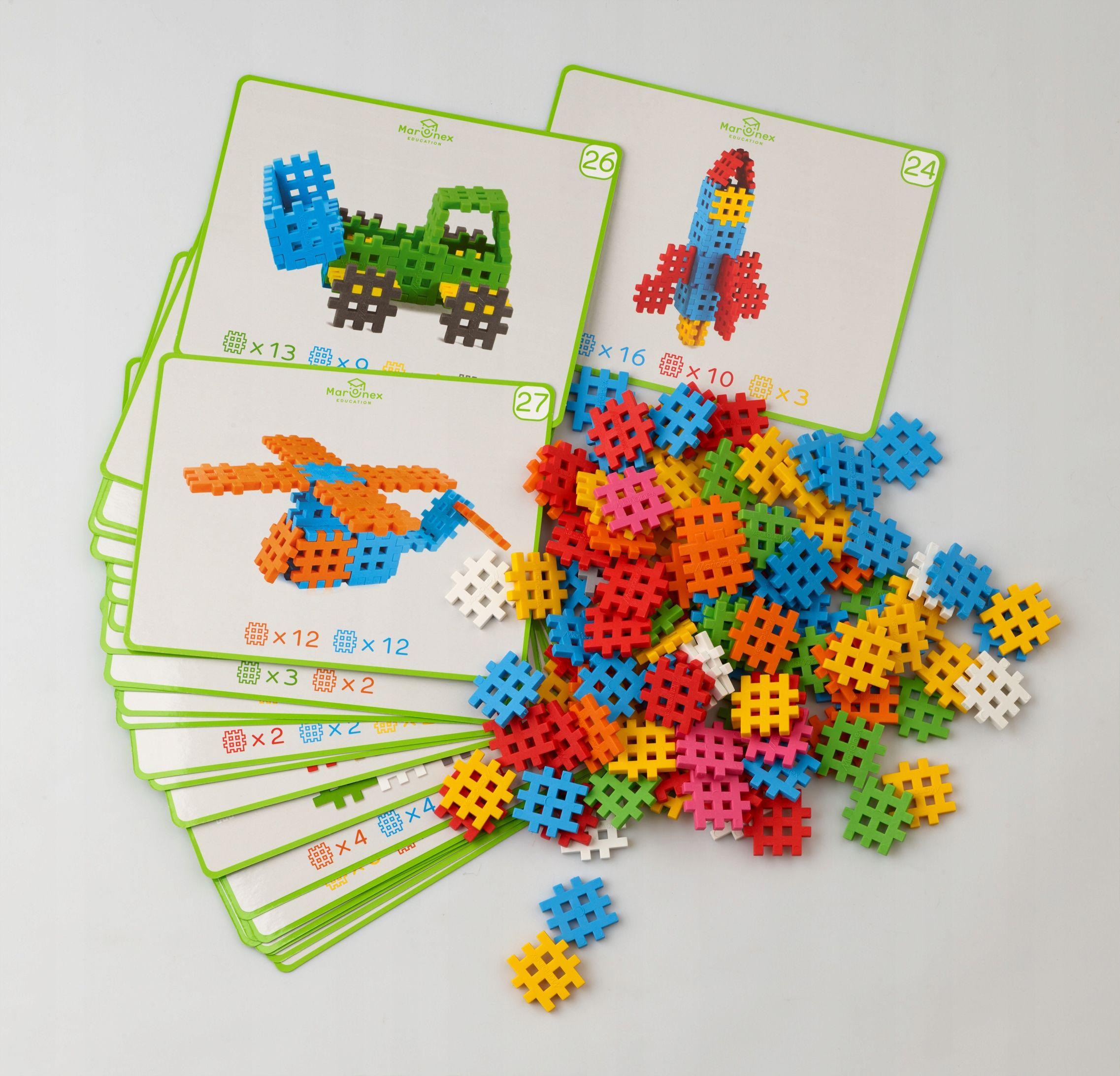 Oryginalne Wafle Klocki Mini Waffle 500 Edu Kartyd 7872335365 Oficjalne Archiwum Allegro Diy Crafts For Kids Crafts Diy Crafts