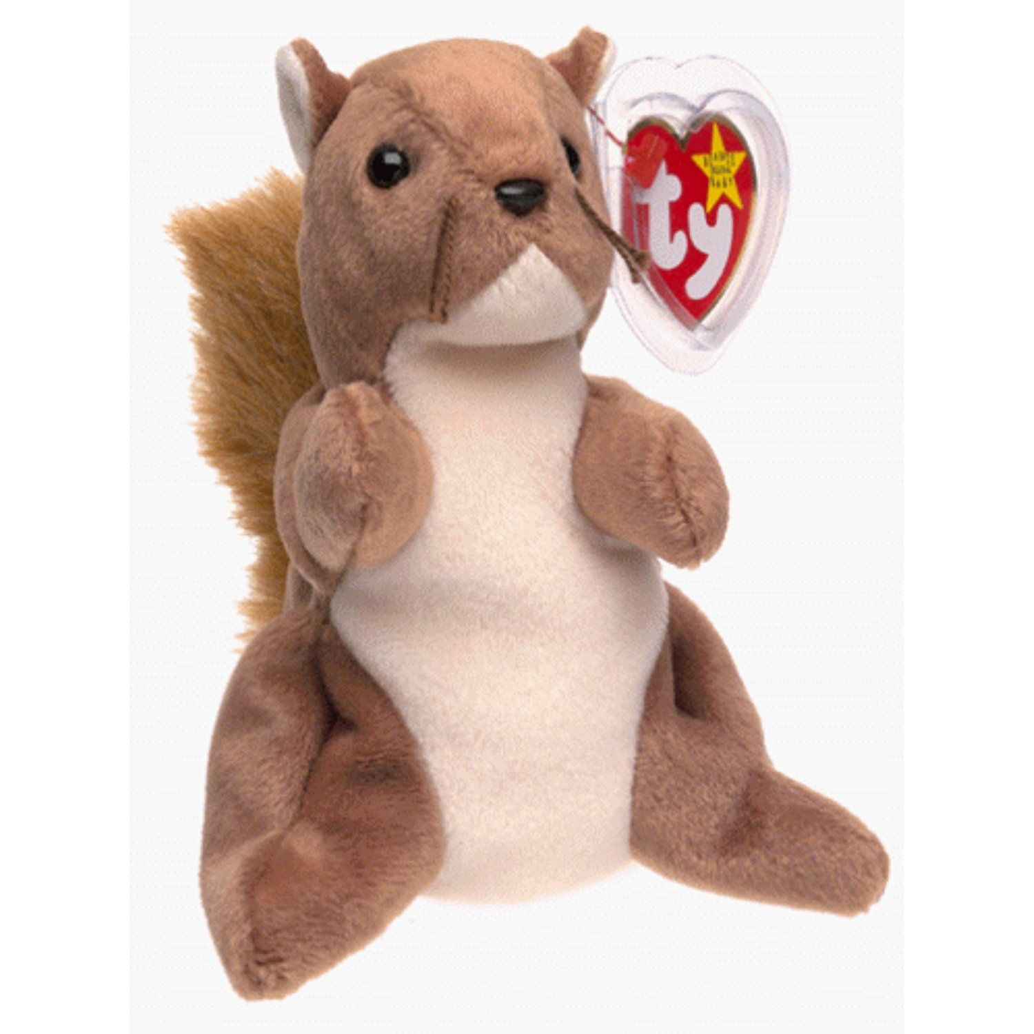 Ty Beanie Babies Nuts The Squirrel Read More Reviews Of The Product By Visiting The Link On The Image Teddy Bear Stuffed Animal Baby Squirrel Baby Beanie [ 1500 x 1500 Pixel ]