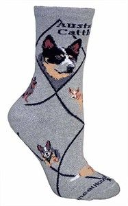 Australian Cattle Dog Socks Australian Cattle Dog Dog Socks Dog Breeds