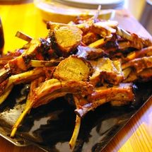 Spicy Indian Rack of Lamb