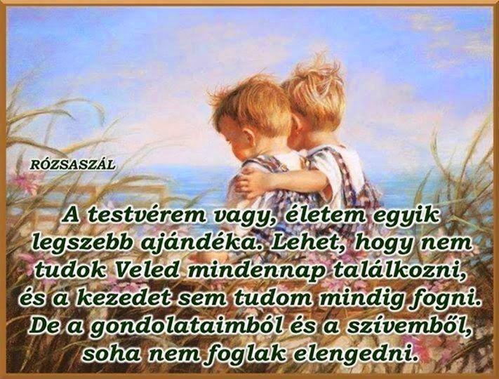vicces idézetek testvérekről Képes versek és idézetek : A testvérem vagy. életem egyik legszebb