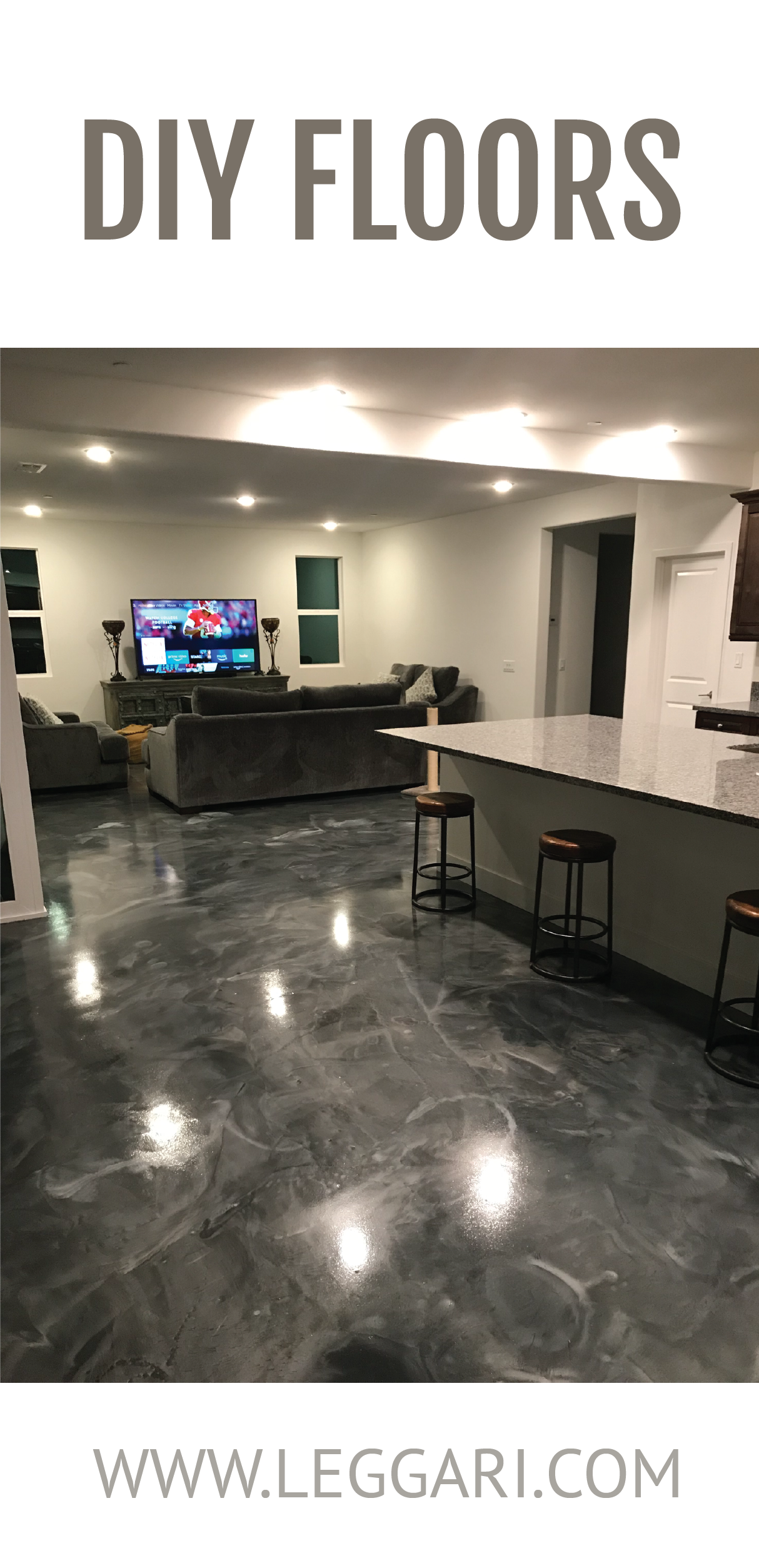 Remodel Your Home And Start With Your Floors Order A Leggari Metallic Epoxy Kit And Give Your Home The Look You Ve Been Dre Best Flooring Flooring Epoxy Floor