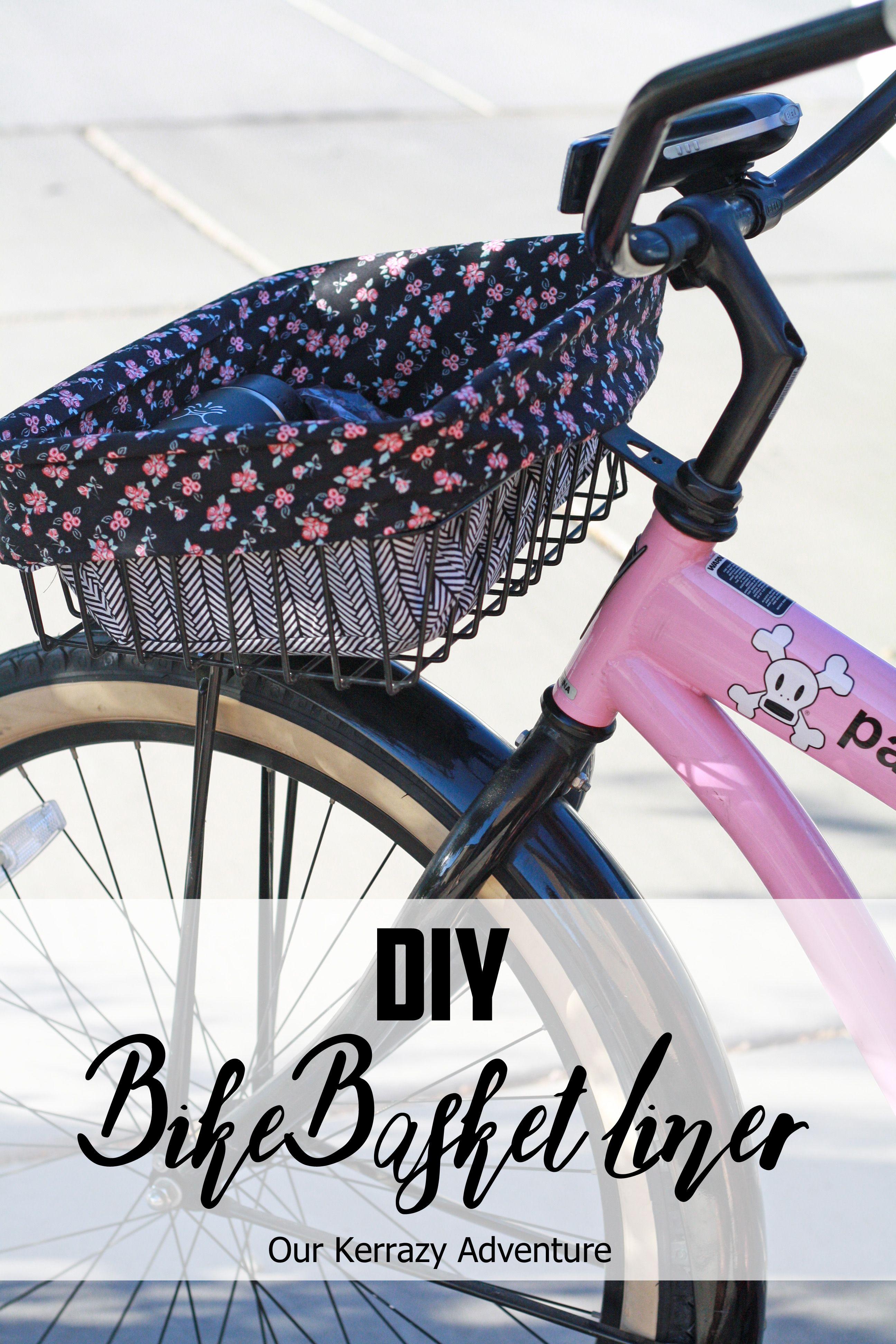 Bike basket liner diy the sewing rabbit.