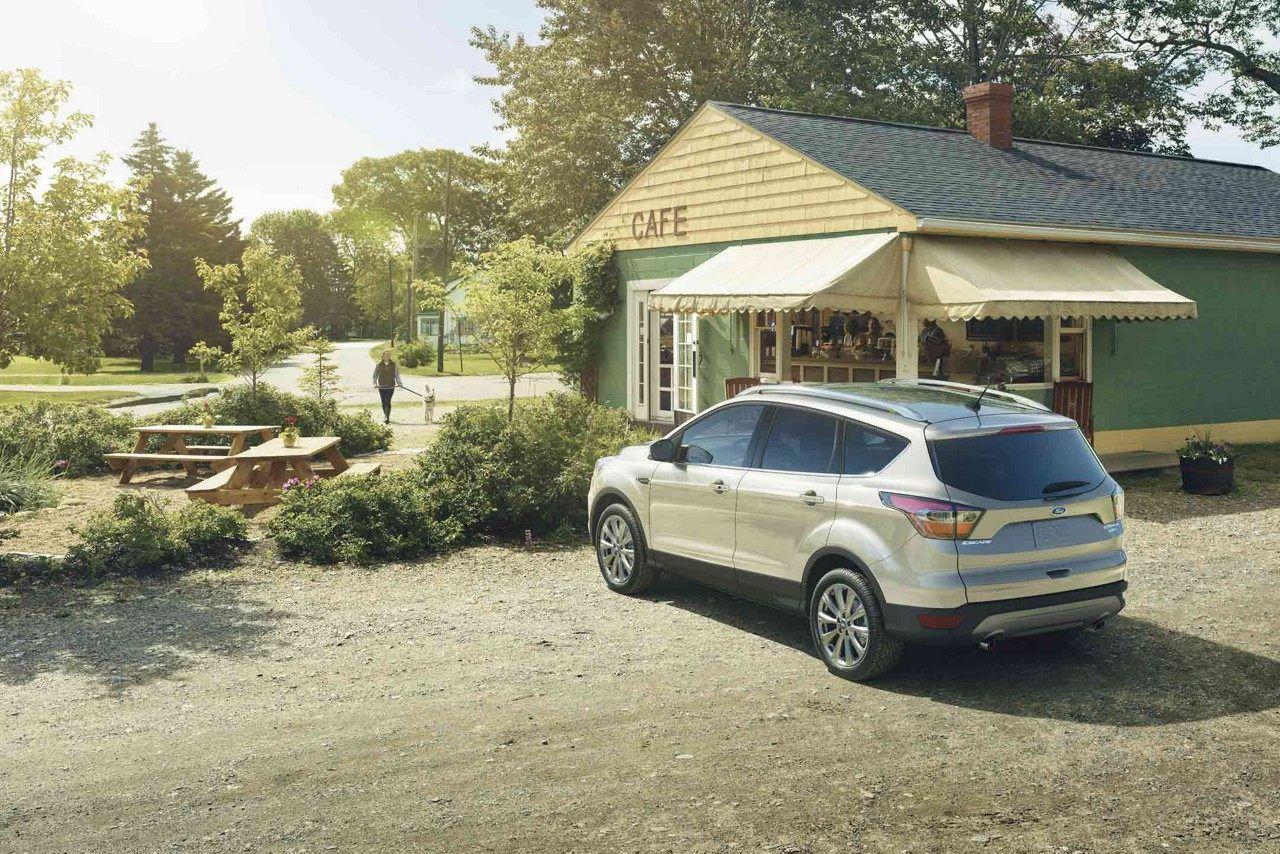 2018 Ford Escape Titanium In White Gold Ford Escape Escape Ford