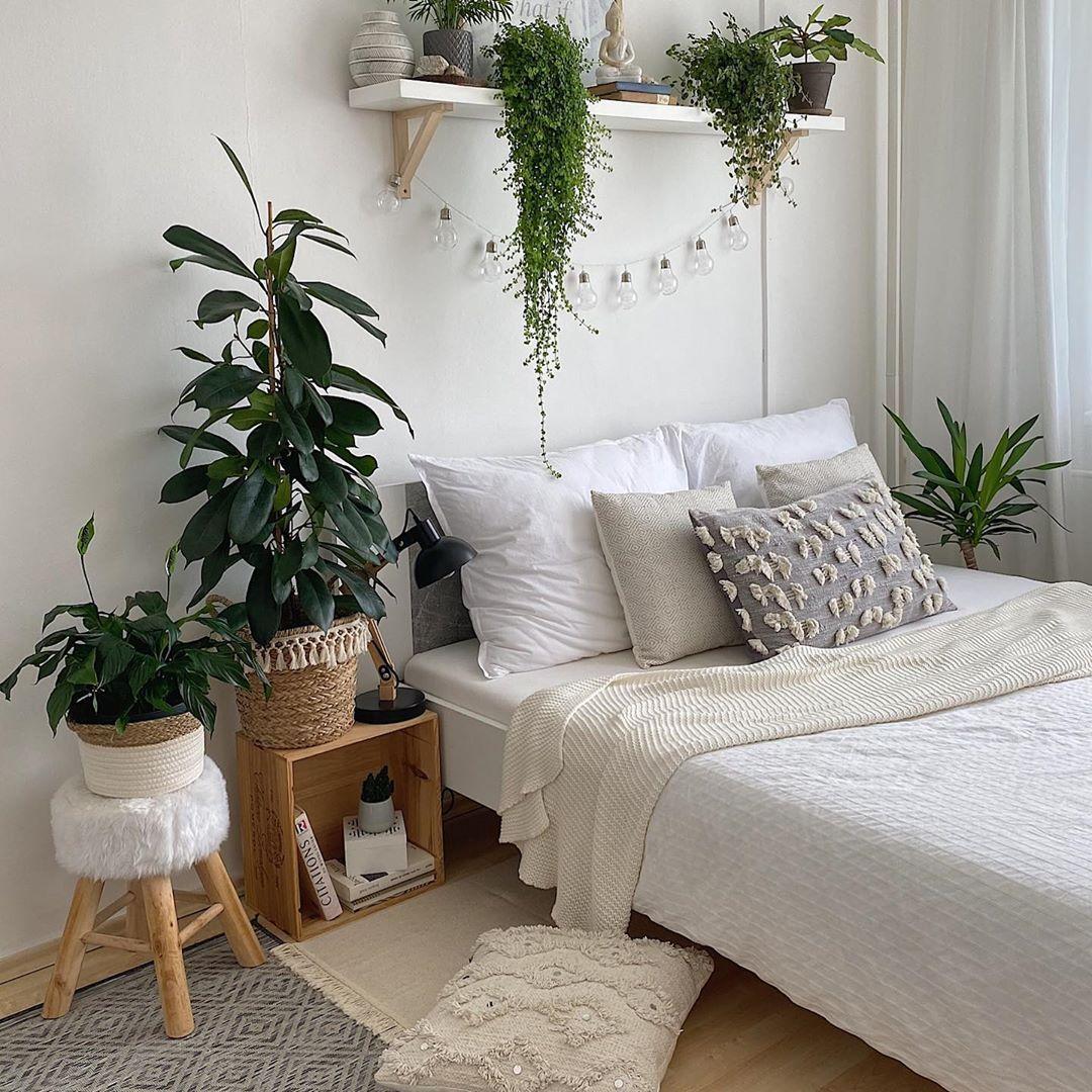 """Early bird's nest on Instagram: """"New week. New beginnings. Welcome to my bedroom 👋  #homedesign #homeinspo #homesweethome #homeinterior #bedroomdesign #bedroomdecor…"""""""