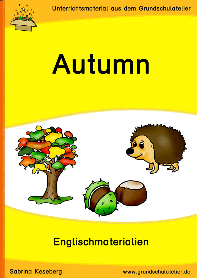 Autumn (Herbst) | Schreibaufgaben, Lernspiele und Arbeitsblätter