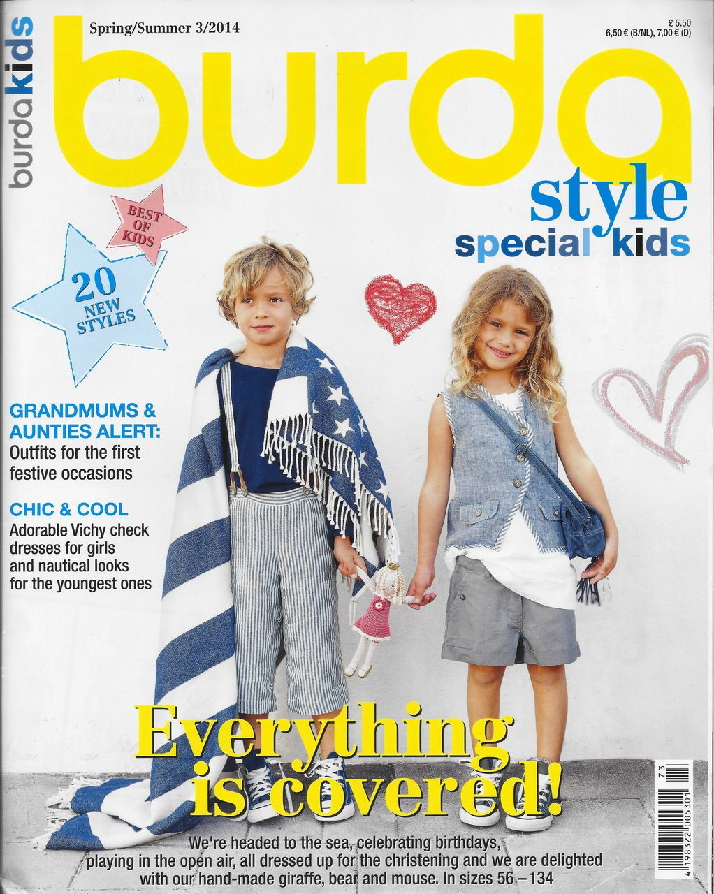 Sew Much Fabric - Burda Style Kids Issue 2014, $11.00 (http://stores ...