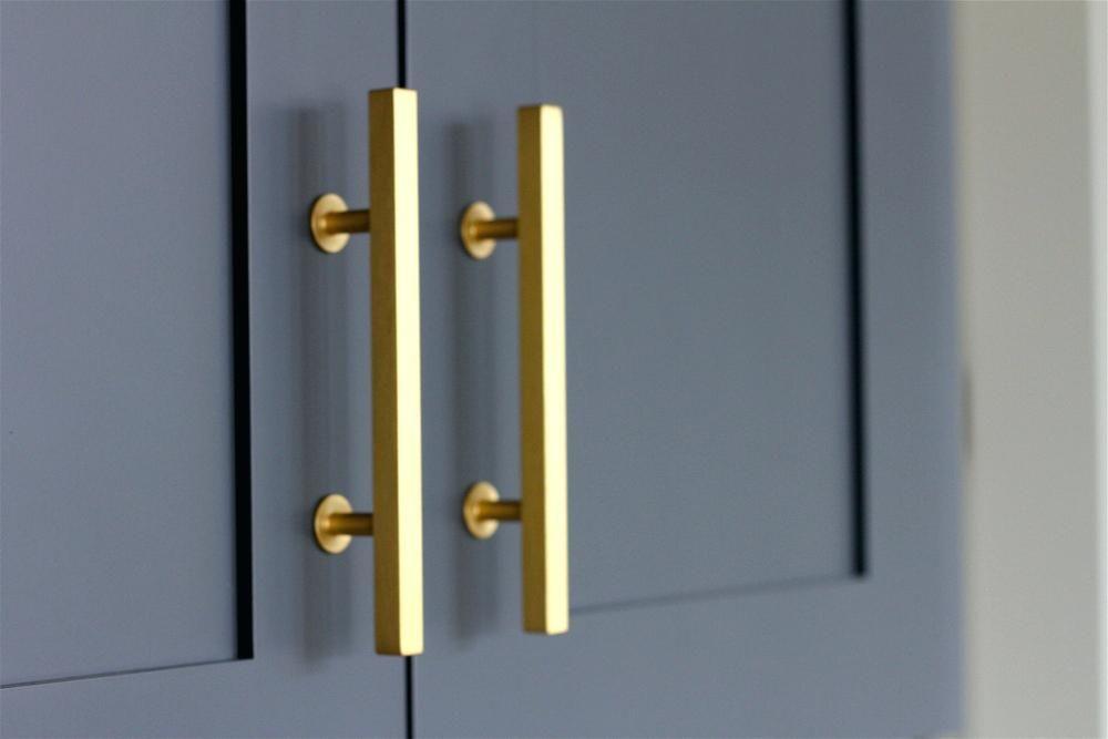 Gold Drawer Handles Image Of Modern Style Drawer Gold Metal Pulls