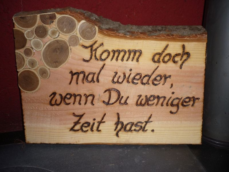 Zitat Frech Von Holz Kreativ Auf Dawanda Com Holz Kreativ Holz Und Holz Ideen