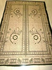 INDIAN HANDLOOM SCREEN PRINTED BED COVER BED SPREAD WALL HANGING HOME DECOR ART