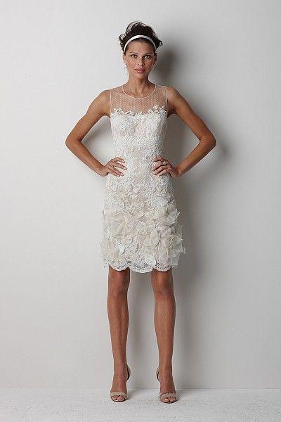 Watters Brides Melbourne Gown Short Wedding Dress Mini Wedding Dresses Wedding Dresses