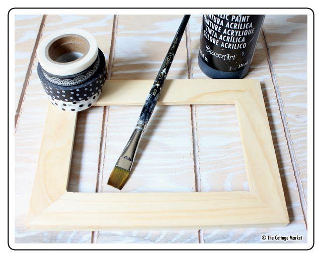 The 36th AVENUE | DIY Washi Tape Frame Tutorial / image 1