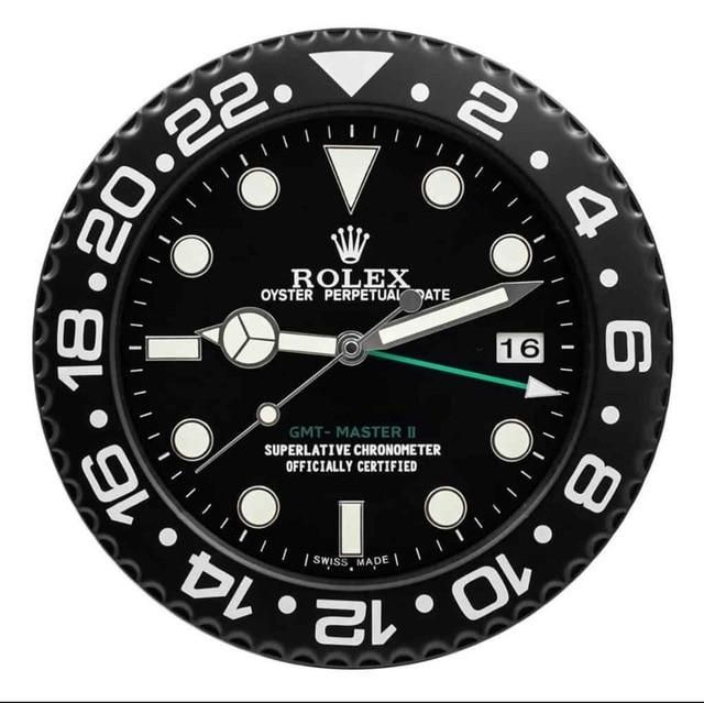 Horloge Murale Rolex アップルウォッチ 時計 モノグラムロゴ