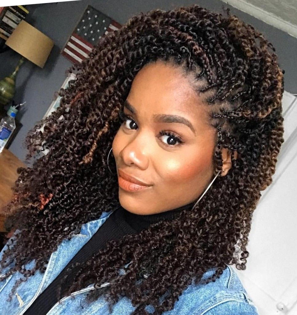 Bomb Twist Twist Braid Hairstyles Natural Hair Styles Twist Hairstyles