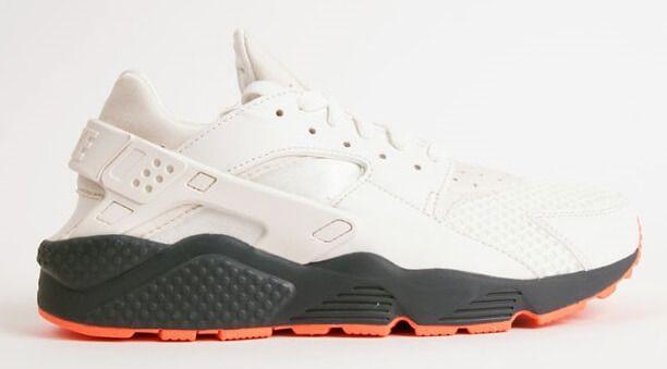 new style baf1c ca18a Nike-Air-Huarache-White-Grey-Crimson Nike Air Huarache White,