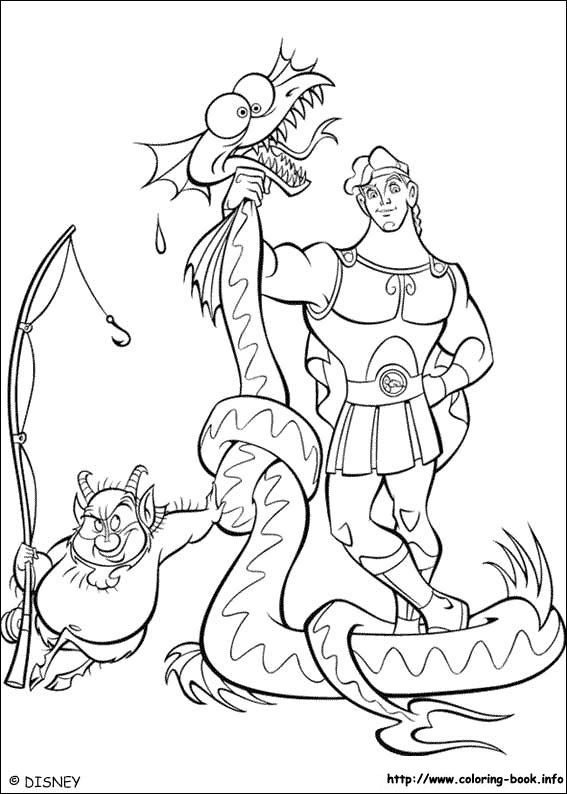 Hercules coloring picture | Disney Coloring Pages | Pinterest ...