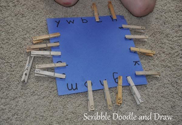 Photo of Quick and easy letter matching activity for your alphabet ce…