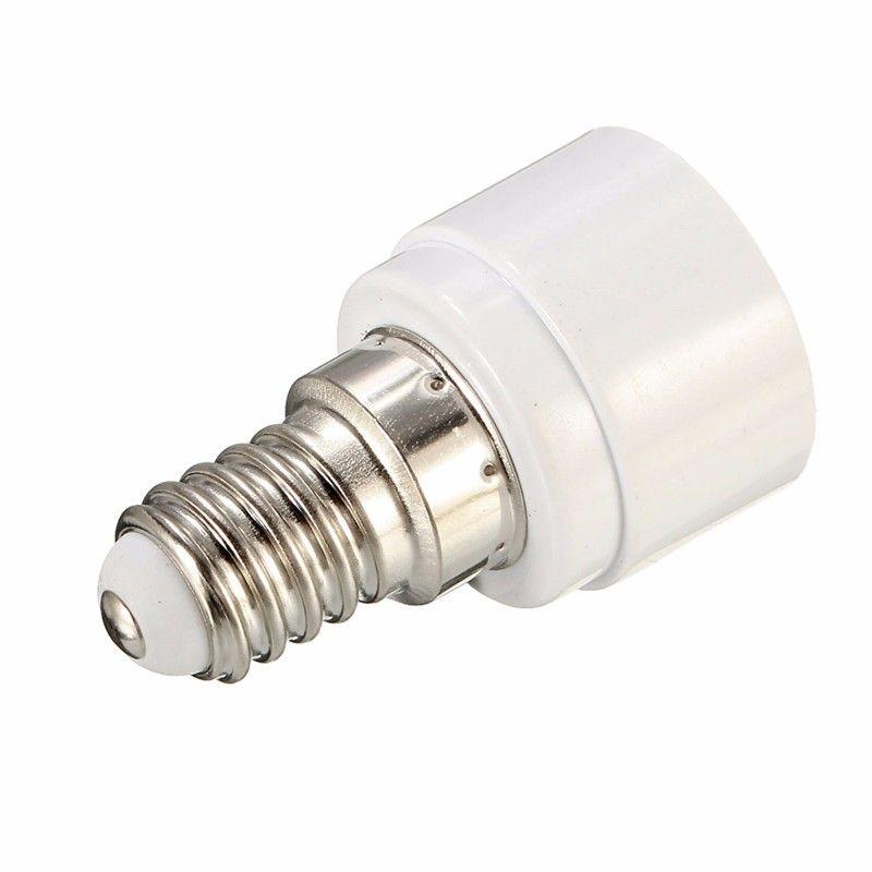 For Led Halogen Bulb Light Lamp Spotlight Lamp Base E14 To Mr16 Gu5 3 Socket Lamp Holder Converter Adapter Ac110 240v Lights Light Bulb Lighting