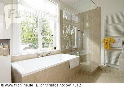 Modernes bad mit eckbadewanne und dusche  Badezimmer Mit Dusche Und Badewanne #2 | Haus Ideen | Pinterest ...