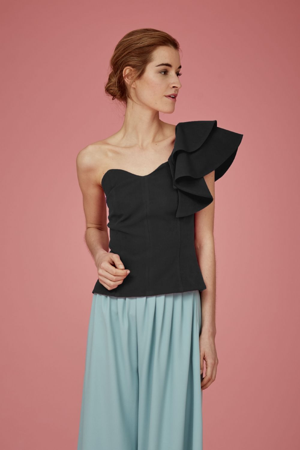 Coosy - TOP TELISA NEGRO | Coosy SS17 | Pinterest | Ropa formal ...