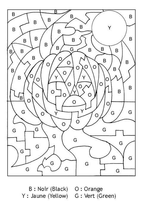 Pour imprimer ce coloriage gratuit «coloriage-magique-lettres-jack-o-lantern-halloween», cliquez ...