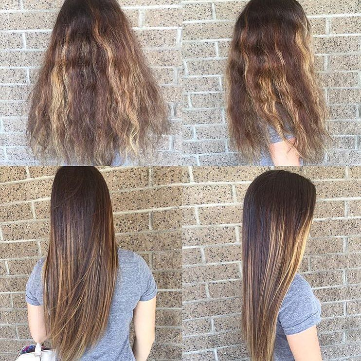 25 Luxurious Brazilian Blowout Hairstyles Before And After Pics You Wont Believe