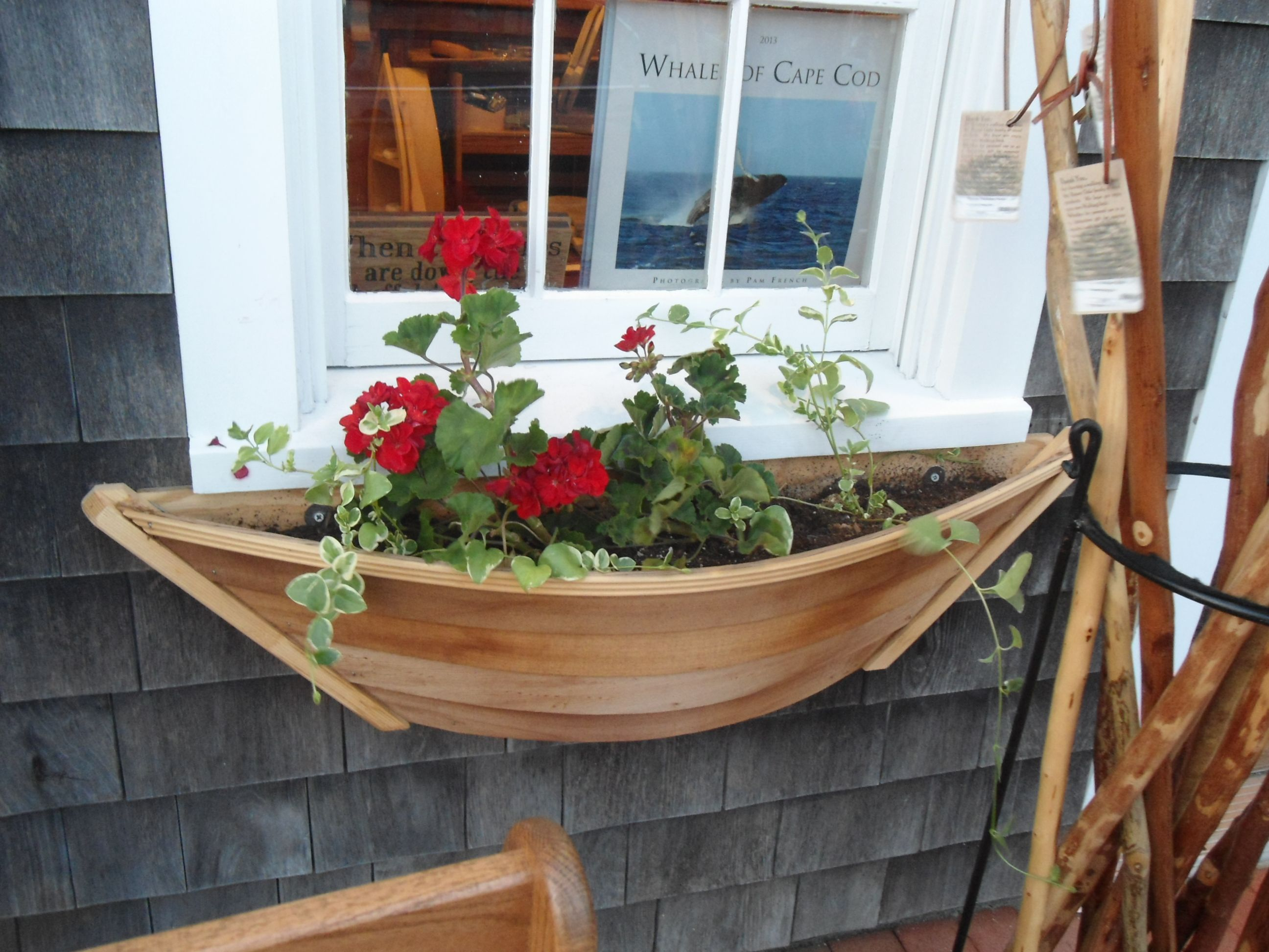 super boat shaped window box in 2019 Beach house decor