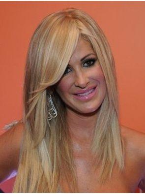 Kim Zolciak Wigs For Sale Where Does Kim Zolciak Buy Her Wigs Long Thin Hair Hair Styles Human Hair Wigs